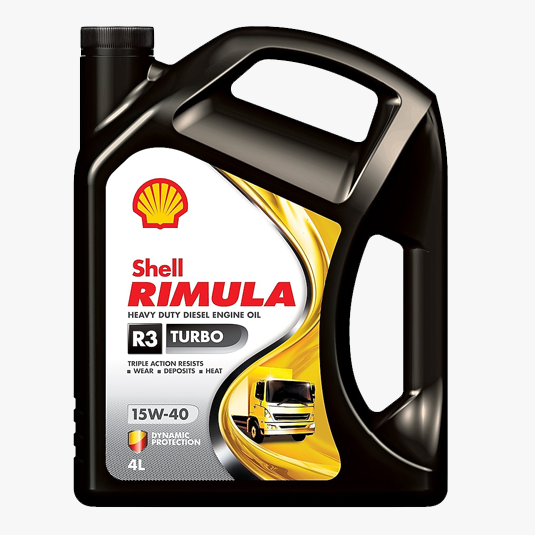 Shell Rimula R3 Turbo 15W-40 5L