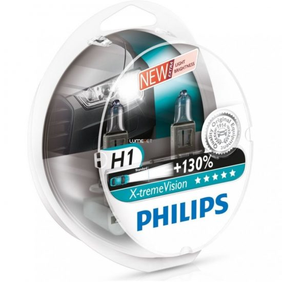 Philips X-tremeVision +130% H1 55W 12258XV 2ks/bal.