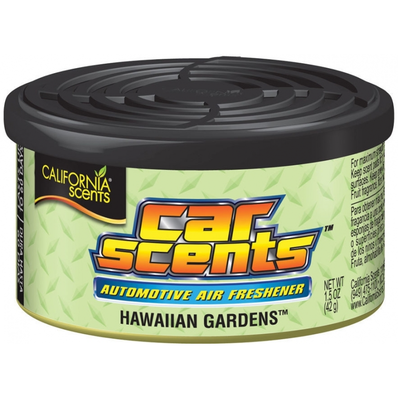 California Car Scents – Havajské záhrady (Hawaiian Gardens)